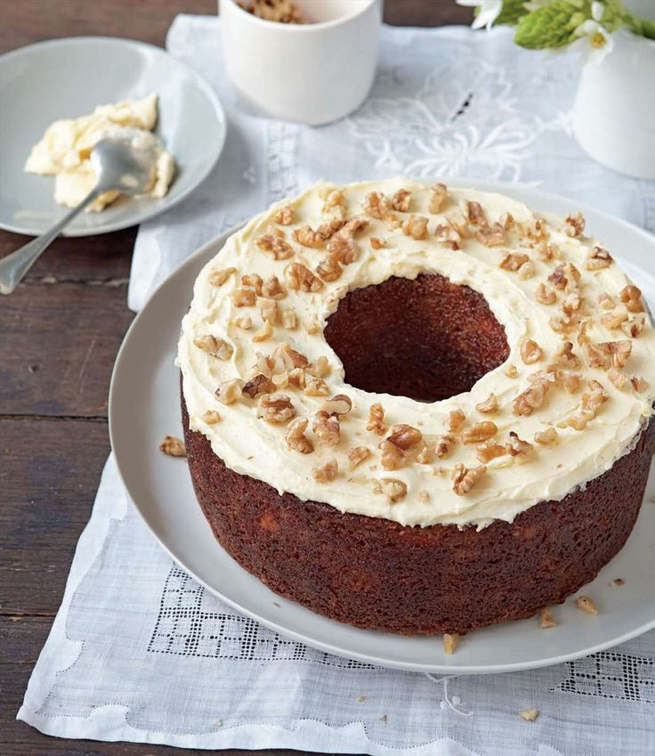 Carrot cake by Margaret Fulton from Baking | Cooked
