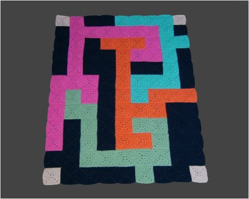 I would make this a rug! Way cool looking!