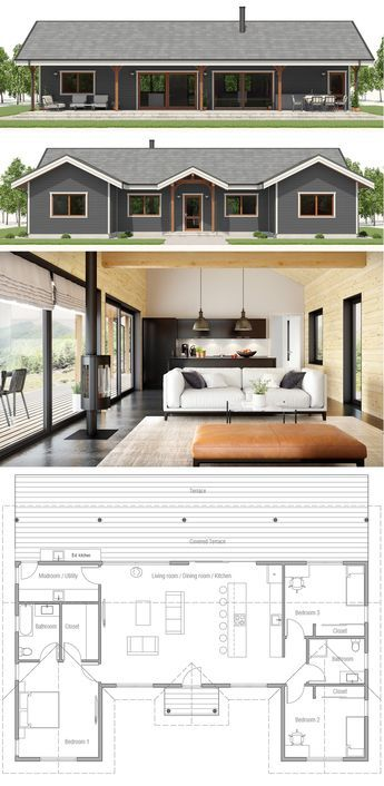 small home plan home plan architecture homedecor interiordesign rh pinterest com