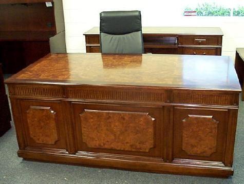 used executive office desks   executive desk   pinterest