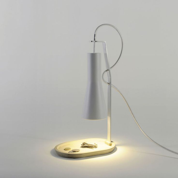 romain pascal: cradle lamp