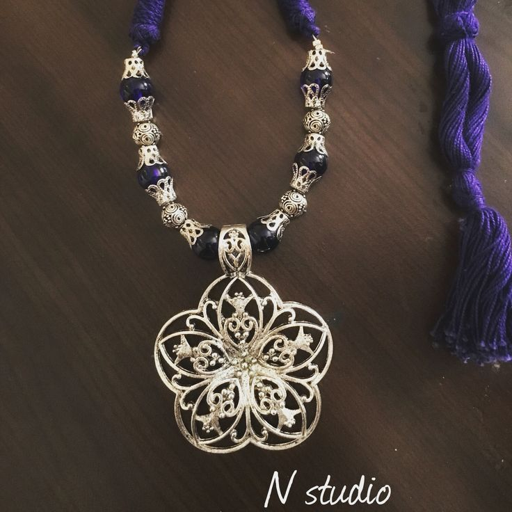 Metal pendent make it beautiful #fashion #jewellery #india # Qatar #dubai