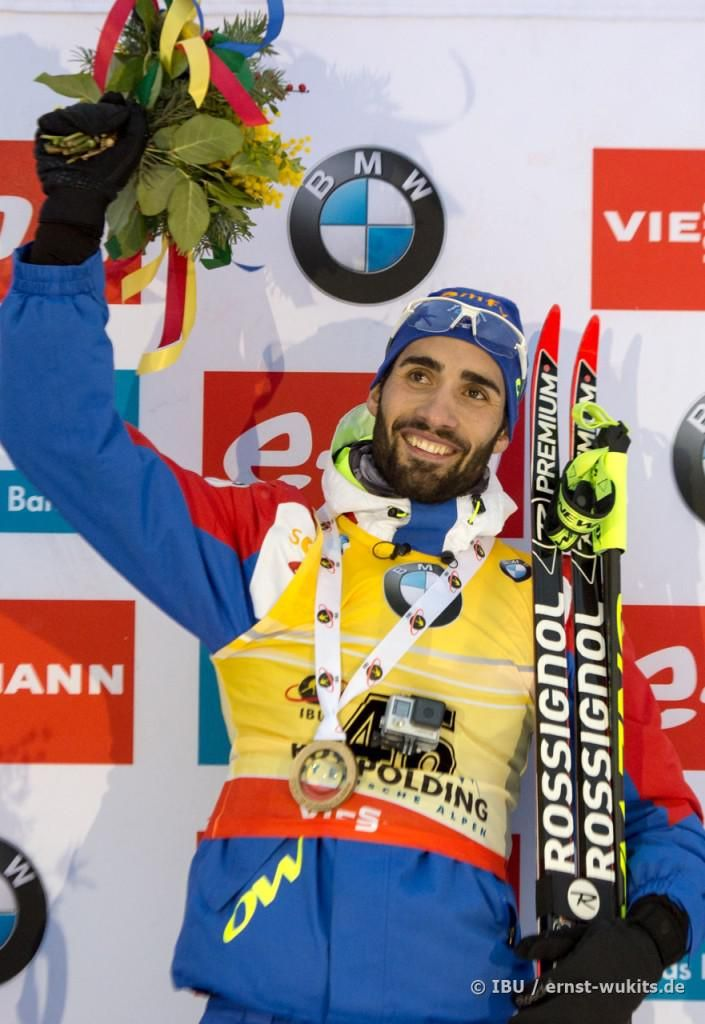 Martin Fourcade intouchable à Ruhpolding