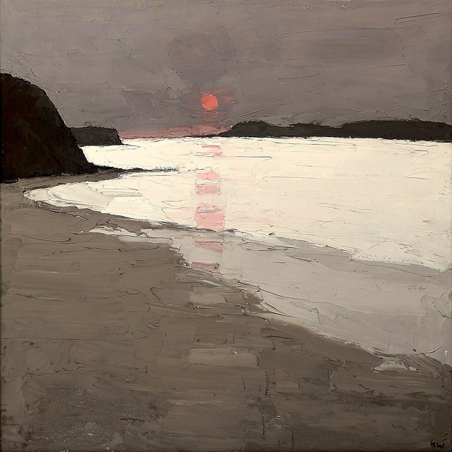 Sir Kyffin Williams (Welsh, 1918-2006), Morfa Conwy by BoFransson, via Flickr