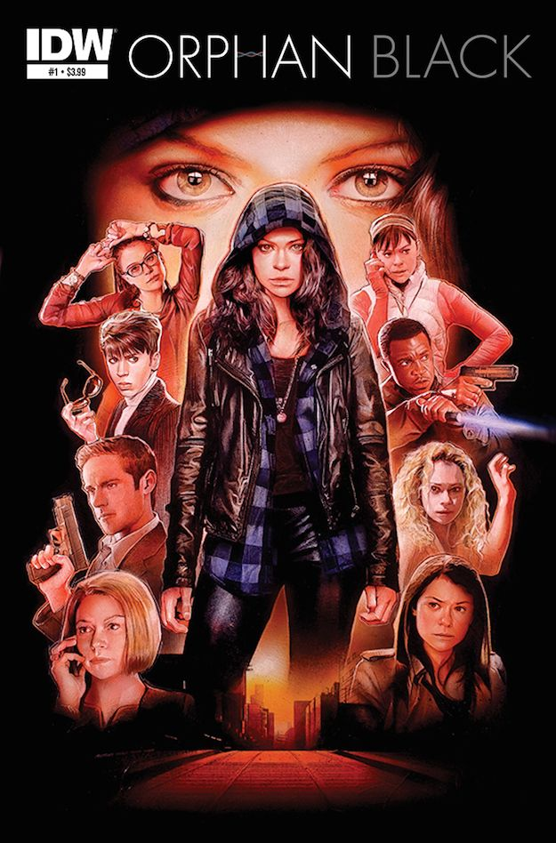 The thrilling sci-fi series, Orphan Black, will be transformed into a new comic book series that will hit shelves in early 2015.