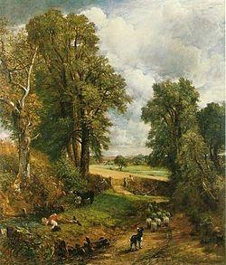 John Constable - The Corn Field