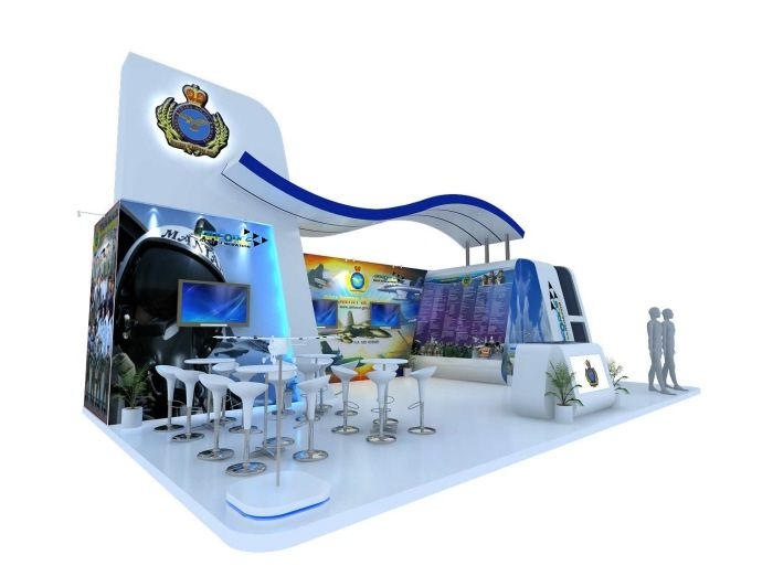 Royal Malaysian Air Force stand at LIMA 13' by Nazrul Youb at Coroflot.com
