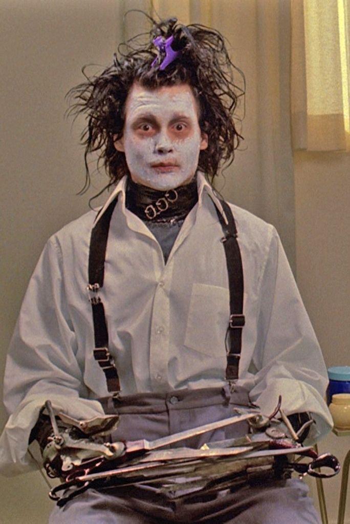#JohnnyDepp #EdwardScissorhands (1990) Directed by #TimBurton