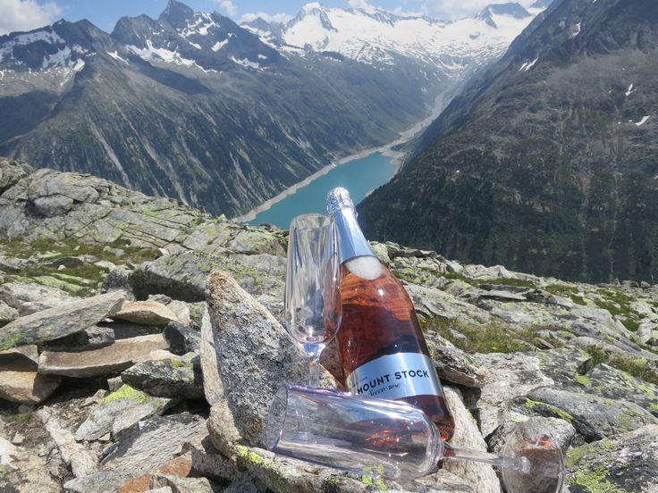 MOUNT STOCK SECCO ROSE hoch über dem Schlegeis Stausee auf dem Weg zur Olperer Hütte!
