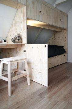 Student's Space : de timmerende architect kinderkamer underlayment