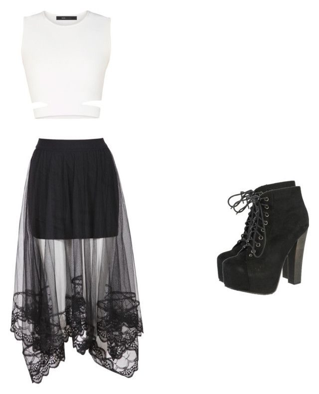 """""""A day out with the girls!"""" by pugshugs on Polyvore featuring BCBGMAXAZRIA and Breckelle's"""
