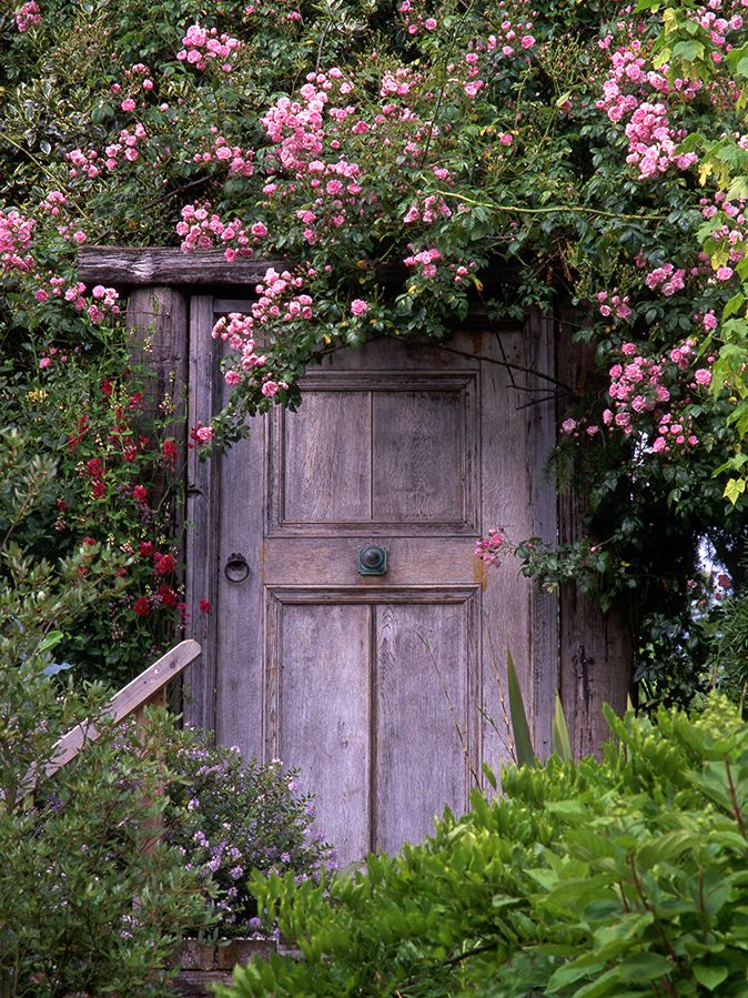 A glorious garden deserves a glorious garden gate –here are 17 beautiful garden gates which will set off any country garden to perfection.