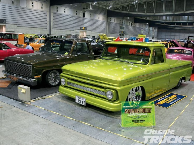 Classic Trucks Magazine >> GREEN! I dont like the painted bumpers and grill though ...
