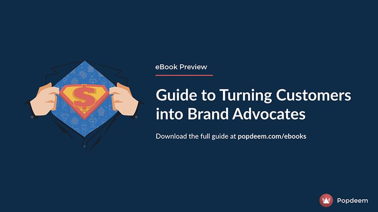 A 12% increase in brand advocacy can generate a 2X increase in revenue. 📈 Discover how to turn your customers into advocates in this free eBook.