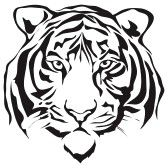 Tiger Silhouette Cliparts, Stock Vector And Royalty Free Tiger Silhouette Illustrations