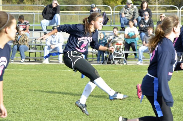Powder Puff Football Games 2014 - Lansing Christian Pilgrims - Lansing Christian School Athletics