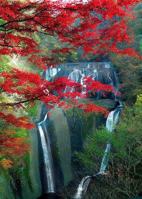 Fukuroda Falls , Japan - Travel Pedia #Japan