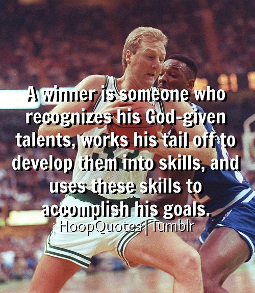 Wise words of Larry Bird. | Quotes, sayings, and ...