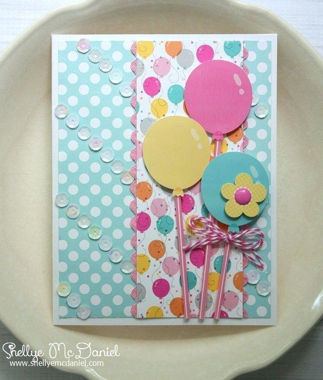 Doodlebug Design Inc Blog: Cards with Sequins by Shellye McDaniel.