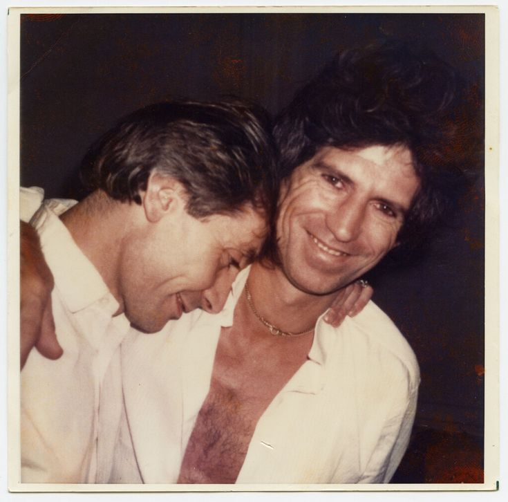 Charlie Watts and Keith Richards