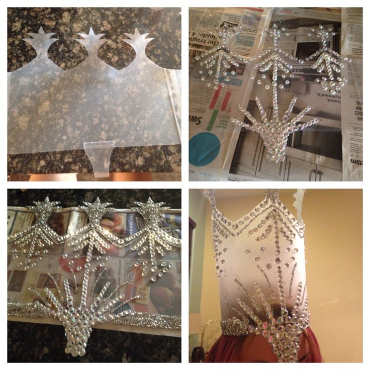 DIY Glinda the Good Witch crown.