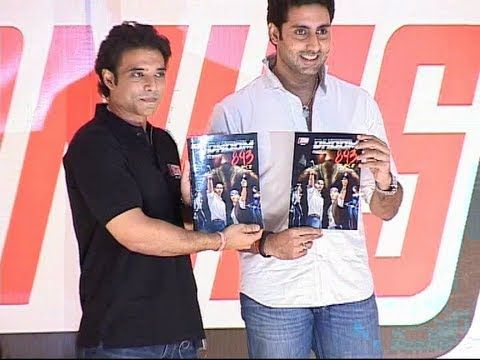Abhishek bachchan and Uday Chopra launches comic book labeled YOMICS.