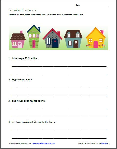 17 Best images about Writing Sentences on Pinterest : Pocket charts, Sight words and Student