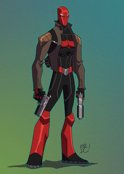 My Take on the Red Hood I had actually done this design Months ago but just got around to color him!! Anyway I hope you like my take on him!! Next up....... Another Surprise!! *Red Hood is property...