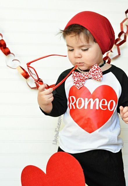 Handmade Boys Romeo Valentine S Day T Shirt By Liv Amp Co