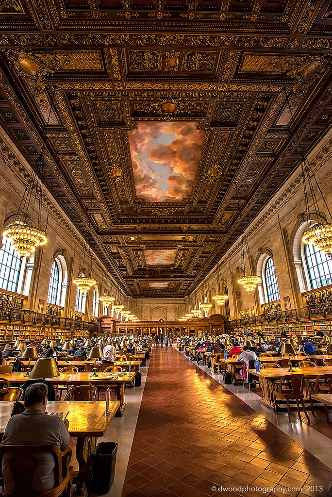 New York Public Library. Reading Room | Flickr - Photo Sharing!