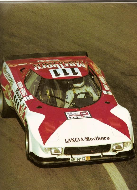 1973 .. Tour de France winner #Lancia Stratos HF  Marlboro Lancia Italia Driven by Sandro Munari / Mario Manucci