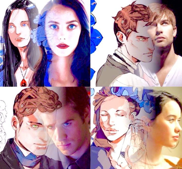 The Infernal Devices collage