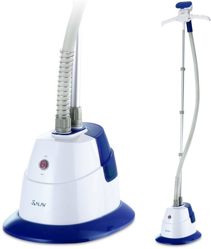 Salav GS06-dj Garment Steamer with 360 Swivel Hanger,Do you spend money to dry clean your best clothes? Check this out, quick and does an awsome job!