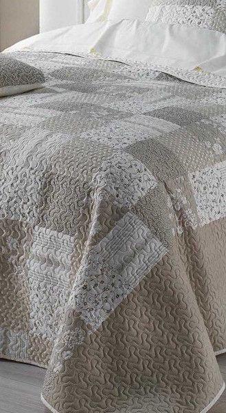 bezove-vintage-prehozy-na-postel-v-motive-patchwork-1