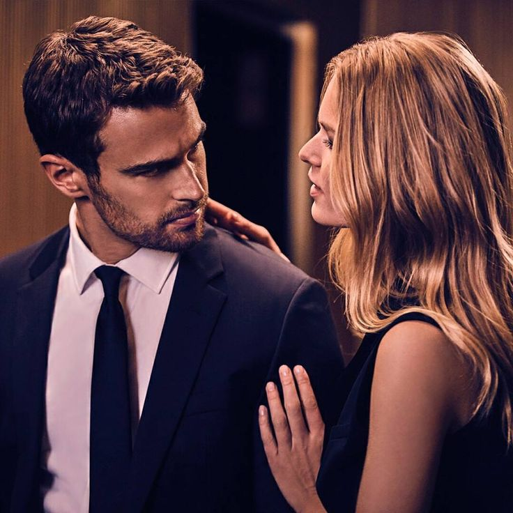 New shot of Theo and Anna Ewers for HUGO BOSS: The Scent Intense promotional campaign! 💫💫 (©) hugoboss on IG