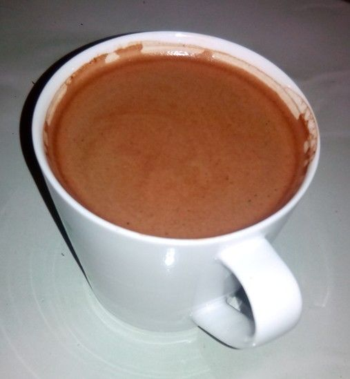 Sapan coffee with hot water is great taste