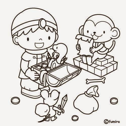Dibujos para colorear. Maestra de Infantil y Primaria.: El colegio. Dibujos para colorear igual que el modelo.