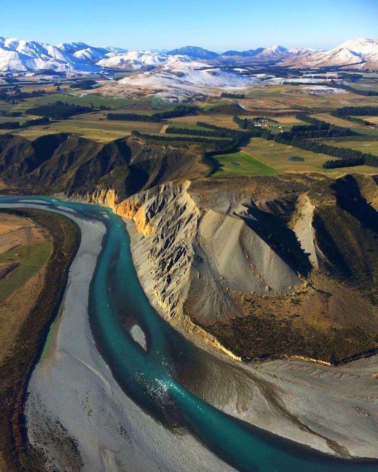 Waimakariri River, Canterbury, The South Island, New Zealand (from GCH Aviation)