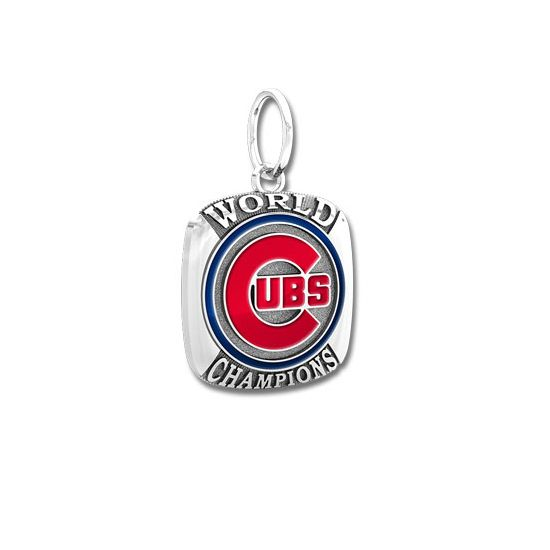 Chicago Cubs 2016 World Series Champions Ring Top Charm  #ChicagoCubs #Cubs #FlyTheW #MLB #ThatsCub
