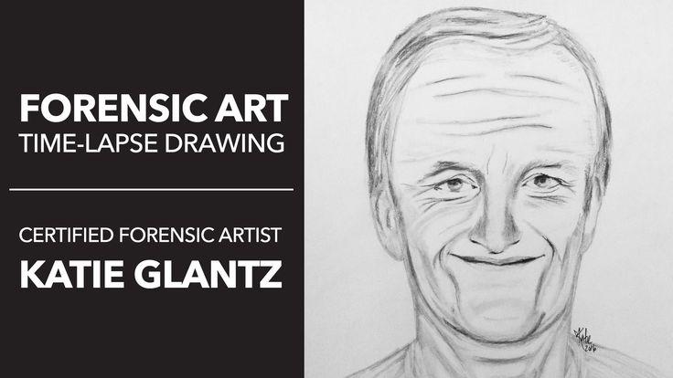 Forensic Artist Drawing // FBI'S MOST WANTED William Bradford Bishop, JR.