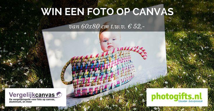 Schrijf je in voor onze Like&Win actie en maak kans op een foto op canvas van 60x80 cm t.w.v. € 52,-!