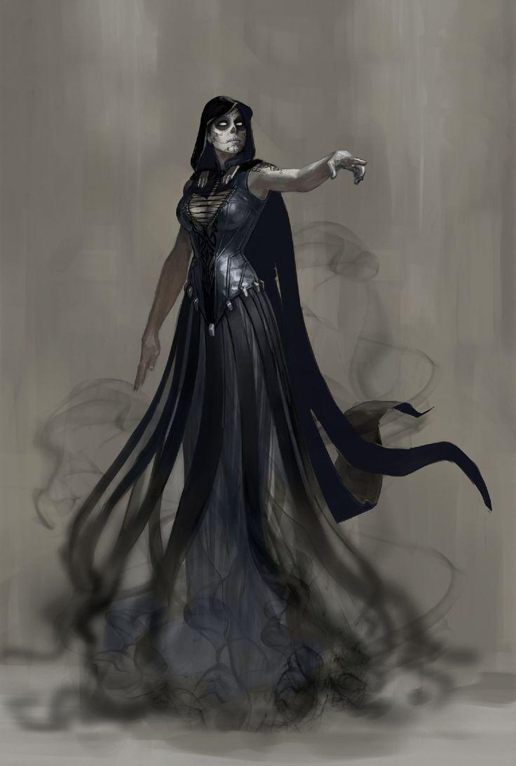 Mistress Death - Serafina recreation for cosplay - Dragoncon