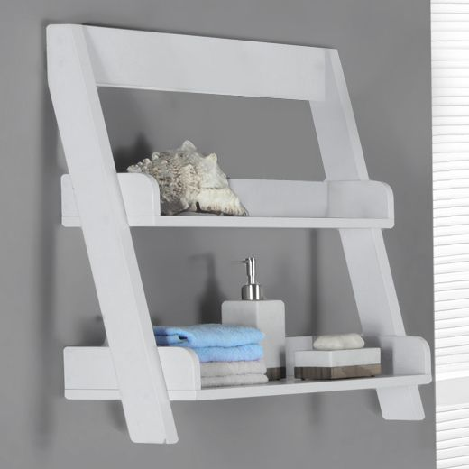 25 best ideas about wooden bathroom shelves on