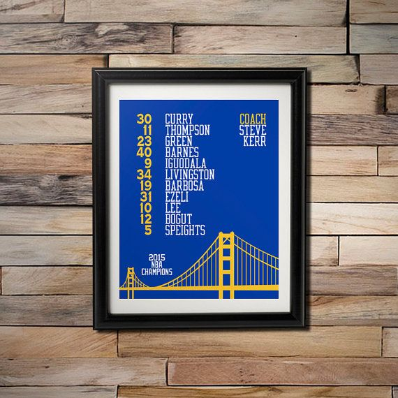 2015 NBA Champions   Golden State Warriors Playoff by CSportImages