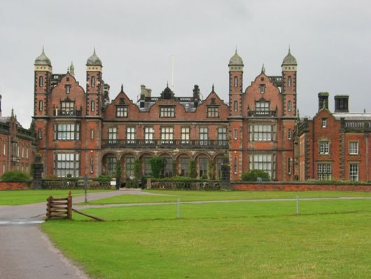 Capesthorne Hall, Macclesfield, Cheshire - Built between 1719 & 1732 in the Tudor revival style, by the Smiths of Warwick & was altered in 1837. It was badly damaged by fire in 1861 & subsequently rebuilt by Anthony Salvin. It has been the family home of the Bromley-Davenports since 1726. The current Squire of the Hall is William Arthur Bromley-Davenport. He was Lord Lieutenant of Cheshire, the Queen's chief representative in the county 1990-2010. His wife is American painter Elizabeth…