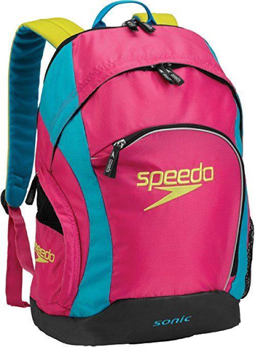 Amazon Speedo Sonic Backpack Imperial Blue Darkgull Grey 25