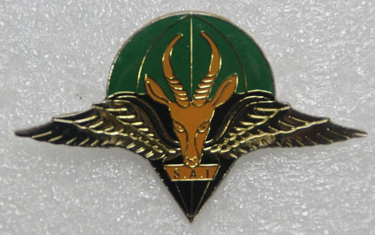 1st Parachute Battalion (1970s) beret badge  South African Army