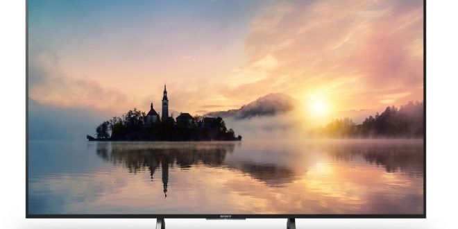 Sony XE70 4K HDR TV Series with four Screen Sizes Unveiled
