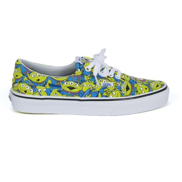 Vans Vans X Toy Story 'Aliens' Era Sneakers ($65) ❤ liked on Polyvore featuring men's fashion, men's shoes, men's sneakers, multicolor, colorful mens shoes and vans mens shoes - mens shoes size 13, mens dres shoes, mens platform shoes