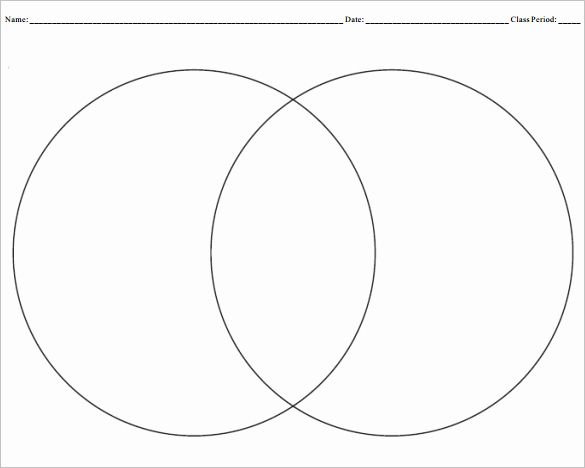 Venn Diagram Template Editable Elegant 9 Blank Venn Diagram Templates Pdf Doc Venn Diagram Template Blank Venn Diagram Venn Diagram Worksheet